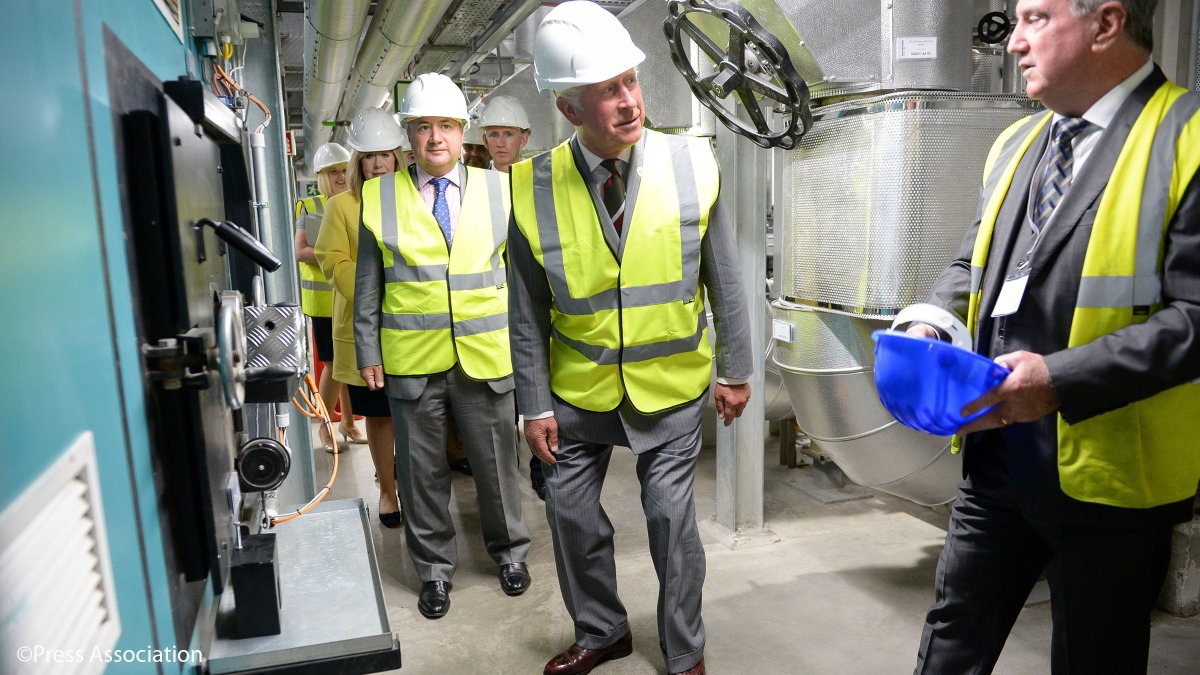 test Twitter Media - The Prince of Wales is delighted to open Volac International's new biomass plant, using sustainable wood fuel to produce energy. #HRHinWales https://t.co/eoPmmJbj7T