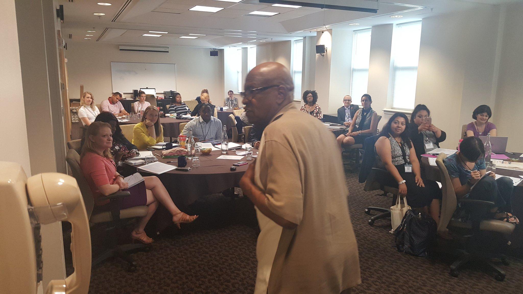 Former Congressman Ed Towns speaks at CRISP Political Boot Camp #crispbootcamp #MacroSW @nasw @laurelhitchcock @birdgirl1001 https://t.co/qF1BqiD4BP