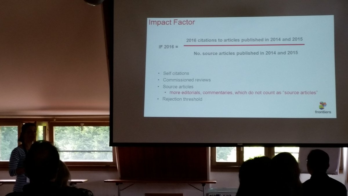 Rossana Mirabella of @FrontiersIn on scientific publishing and the problems of the #ImpactFactor #ZMBPSA<br>http://pic.twitter.com/GCGii6VUHj