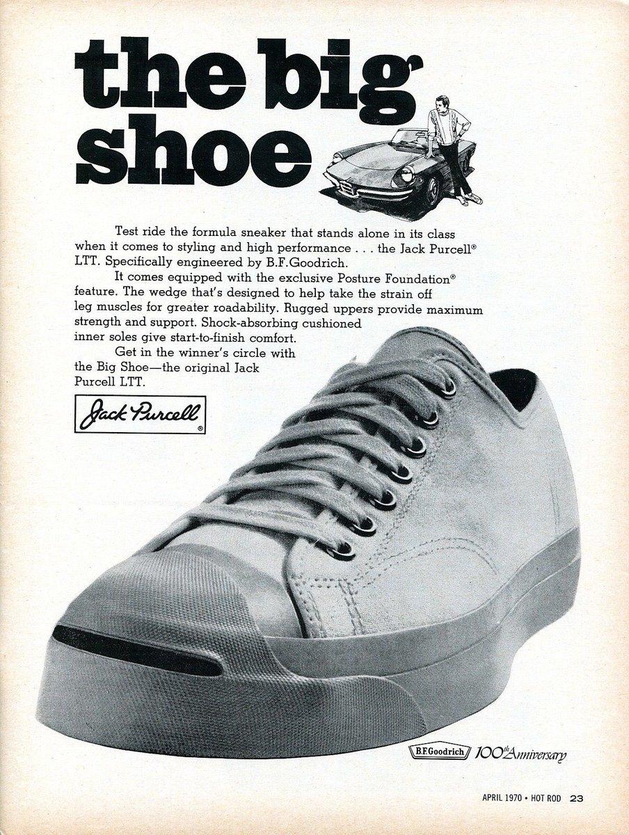 1970 Jack Purcell LTT The Big Shoe
