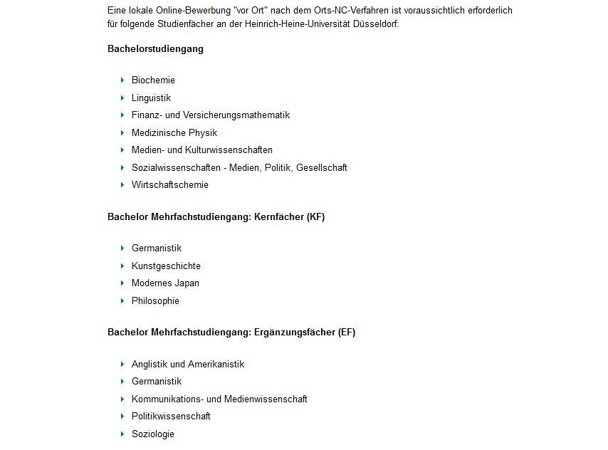 wwwuni duesseldorfdehomestudium und lehre an der hhustudiumstudienplatzbewerbung bewerbung studienanfaengerorts nc direkt vor ort bewerbenhtml - Dsseldorf Uni Bewerbung