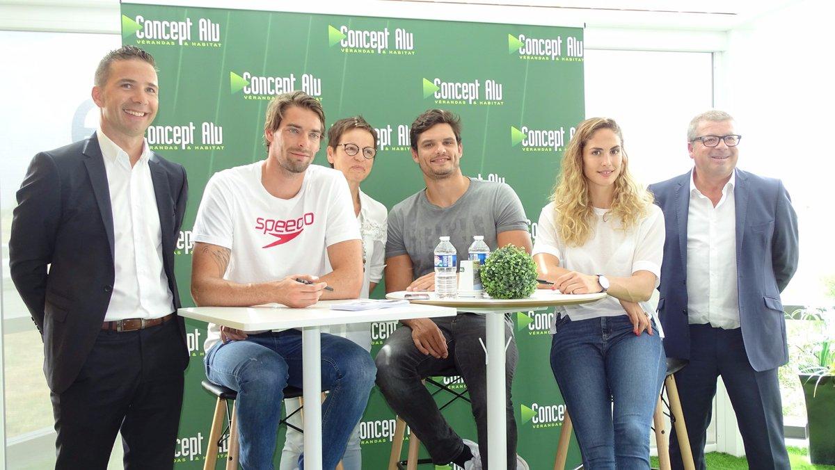 """Concept Alu Les Herbiers concept alu on twitter: """"#ilsenparlent _ """"trio d'#égéries"""