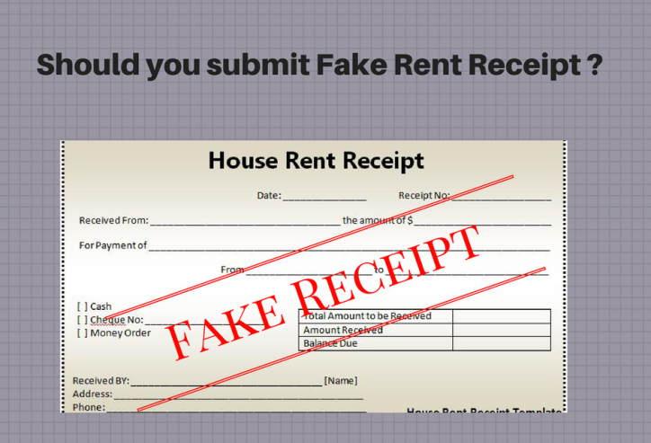 rent recipts