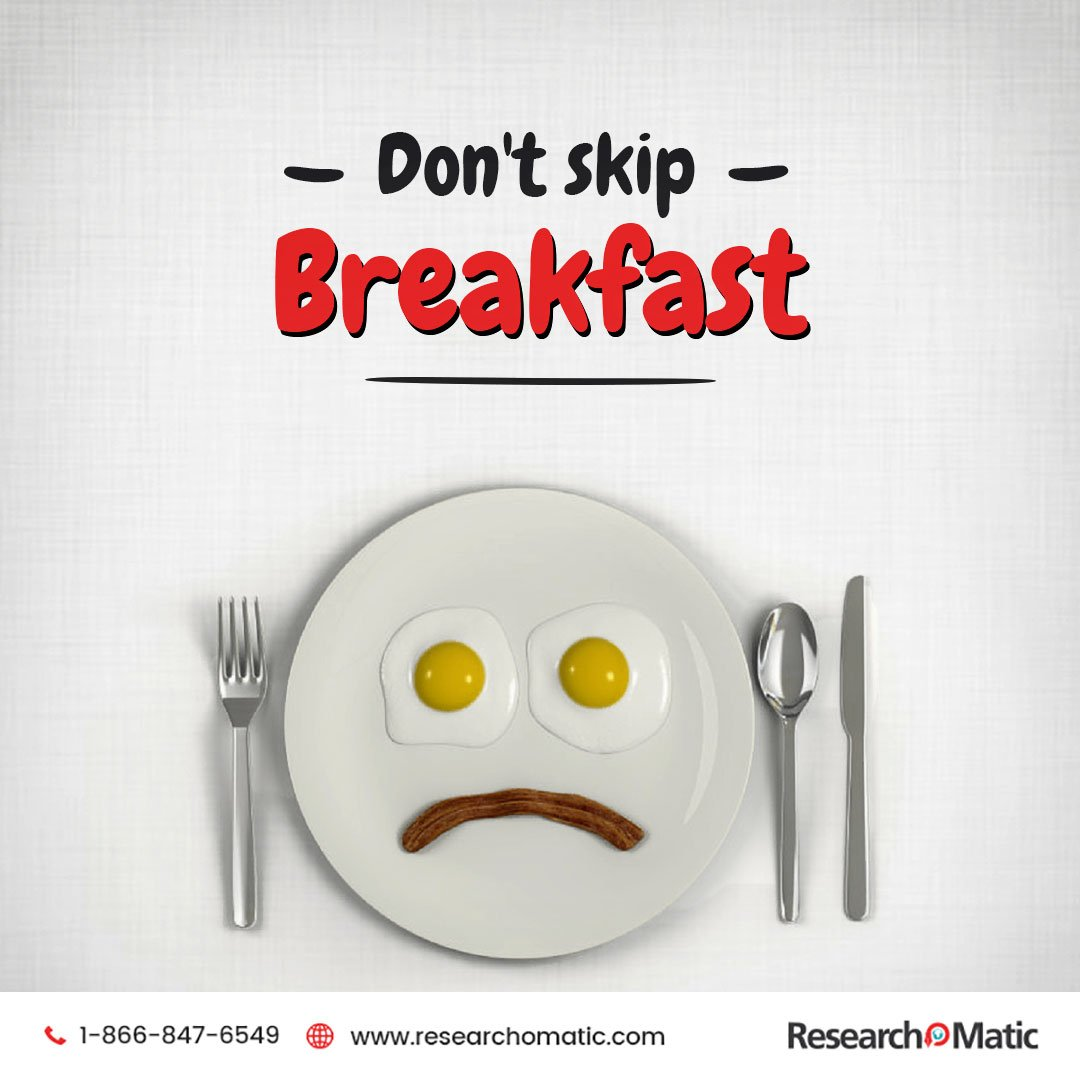 Breakfast is the most important meal of the day.  #Researchomatic <br>http://pic.twitter.com/KUxA92R0Gw