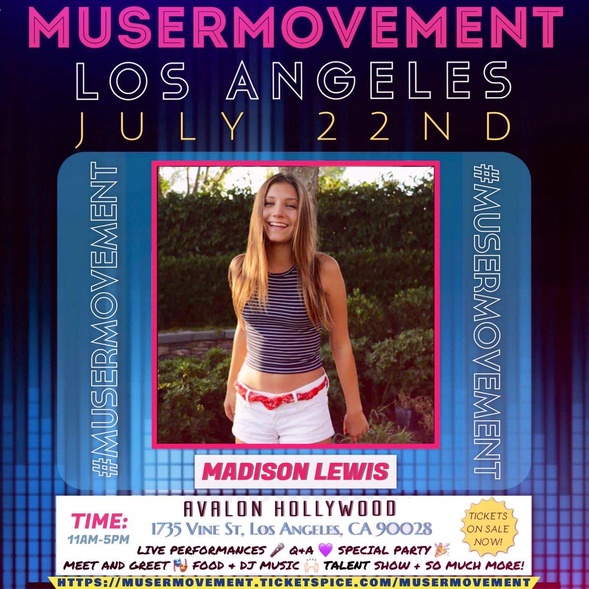 Mads lewis on twitter im hosting musermovement on july 22nd in mads lewis on twitter im hosting musermovement on july 22nd in la cant wait to meet you all m4hsunfo