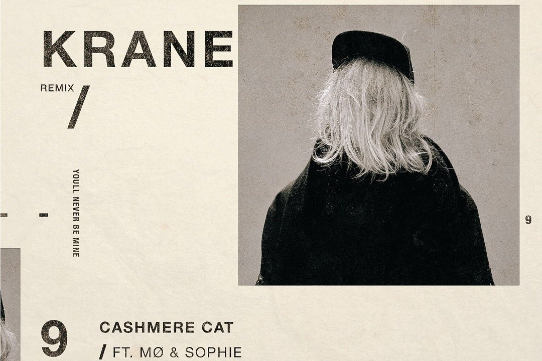 KRANE Cashmere Cat remix artwork