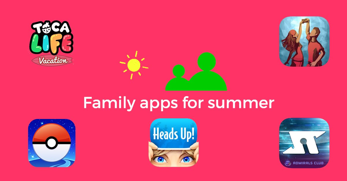 15 Great apps for the whole family to en...