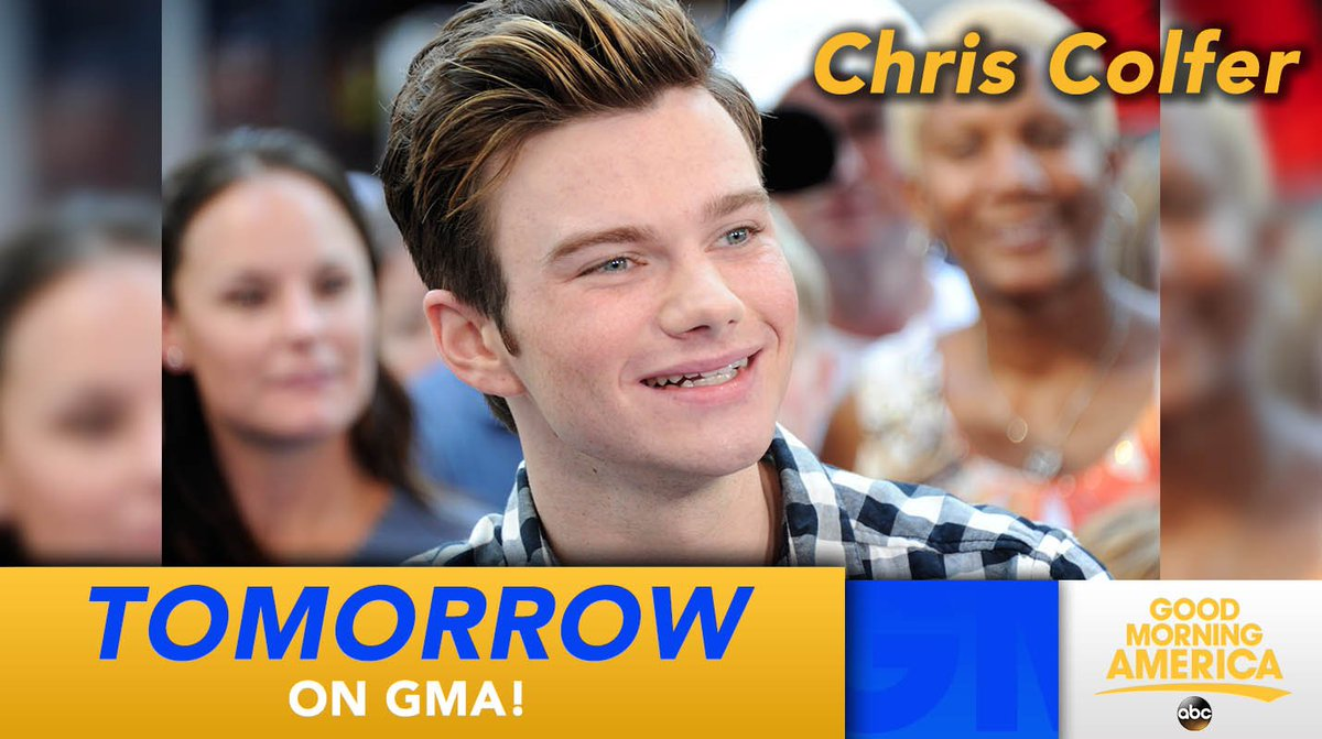 Tomorrow: @chriscolfer talks his new book @LandofStories on @GMA #TheLandofStories https://t.co/q7T5mreJss