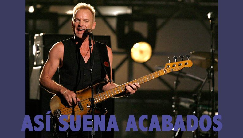 Suena en #acabados &quot;i can´t stop thinking about you&quot; - Sting  <br>http://pic.twitter.com/aaz4P6XLGh