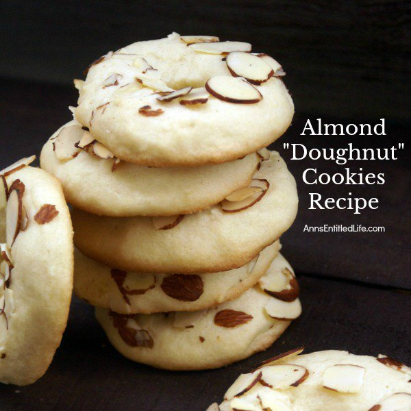 Almond Doughnut Cookies Recipe