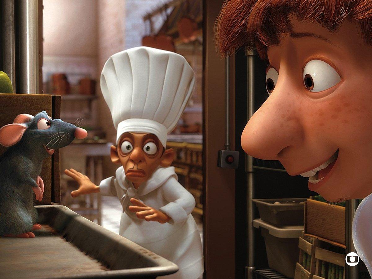 'Qualquer um pode cozinhar!' #Ratatouille #SessãoDaTarde