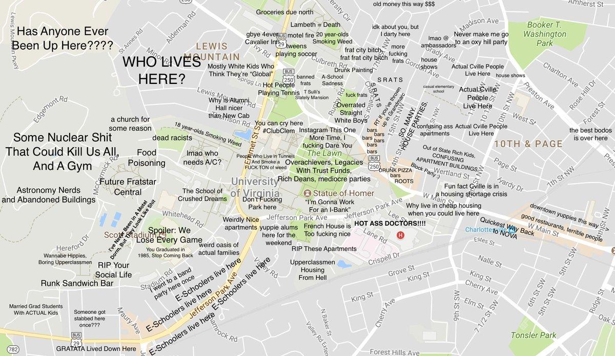Ian Ware On Twitter Judgmental Map Of Uva Httpstco - Uva map