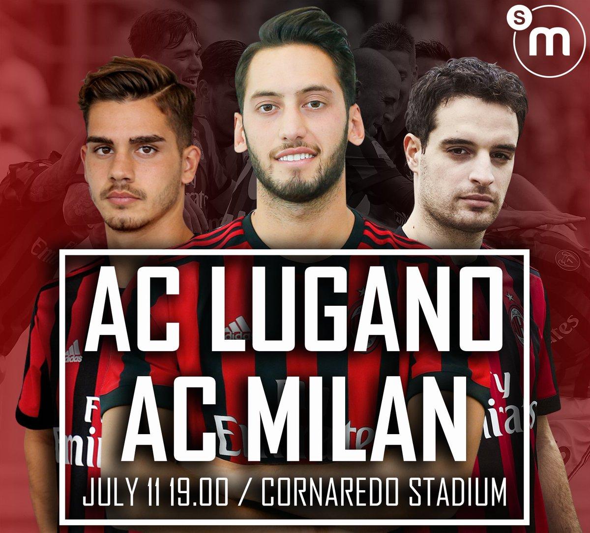 Rojadirecta Lugano-MILAN Streaming Video: dove vedere Diretta TV. Amichevole di Oggi 11 agosto 2017