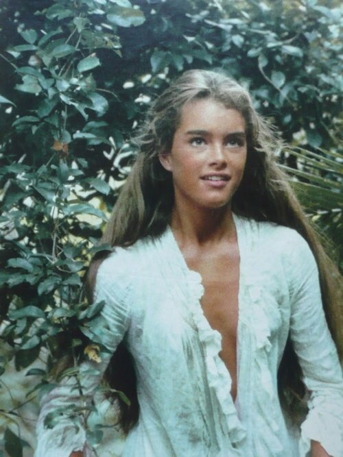 Not pleasant Young brooke shields