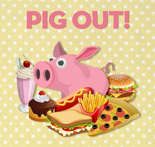 "Eat What You Want Day: Domain On Twitter: ""Today You Can Pig Out Without Feeling"
