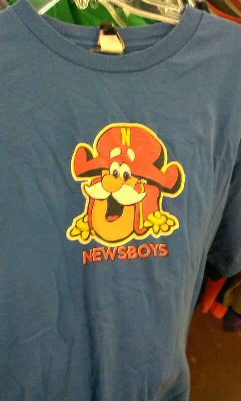 Newsboys captain crunch
