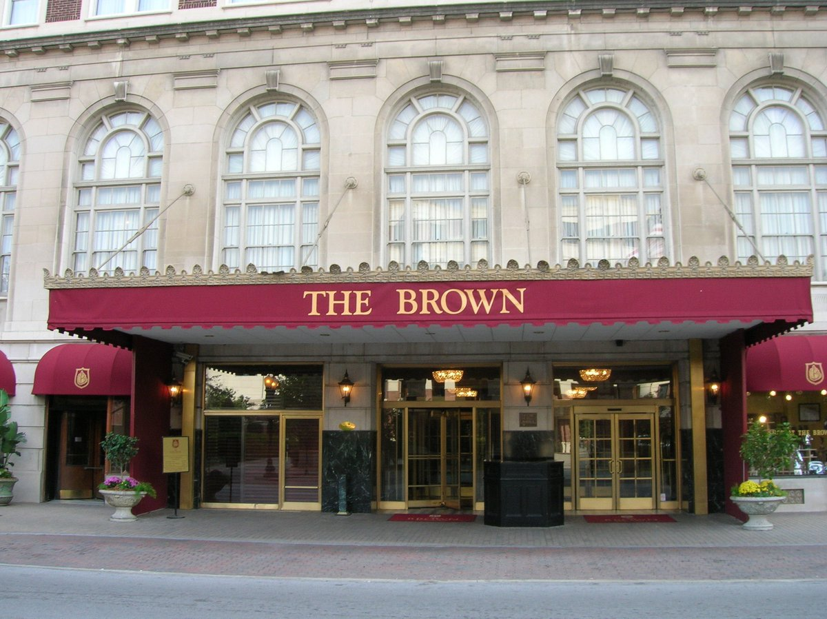 """the brown hotel on twitter: """"thanks @cntraveler! we were ranked"""
