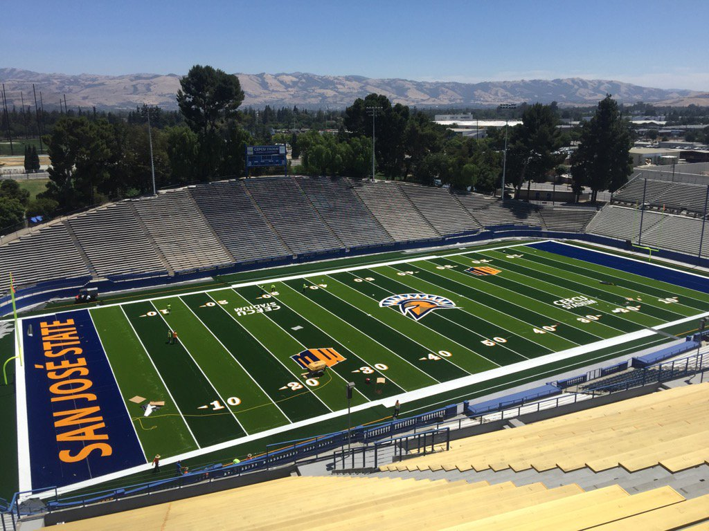 So fresh and so clean. See it 8.12 at FanFest and 8.26 when @SJSUSpartanFB opens the season https://t.co/ByjpUiMuby https://t.co/xXf47lLx6Z