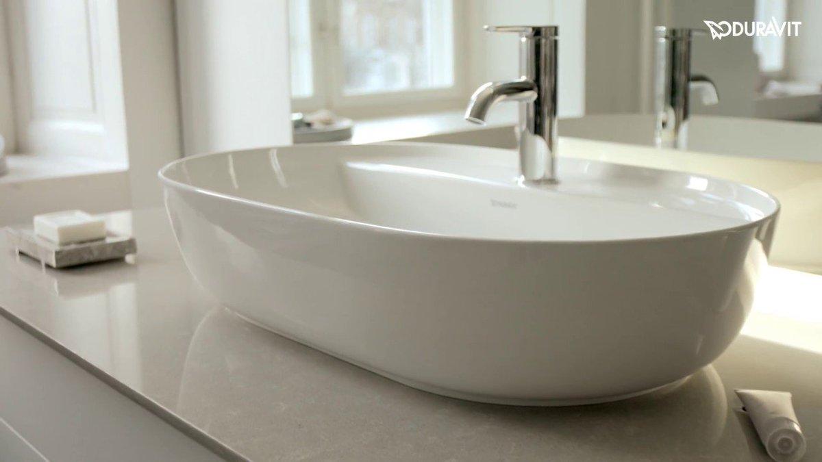 Duravit Luv - Nordic elegance designed by Cecilie Manz    http:// justbathroomware.com.au/duravit-luv-ba throom-series-unveiled-ish-2017/ &nbsp; …   #duravit #bathroom #design #inspiration #justbathroomware<br>http://pic.twitter.com/ZUTJLQieSz