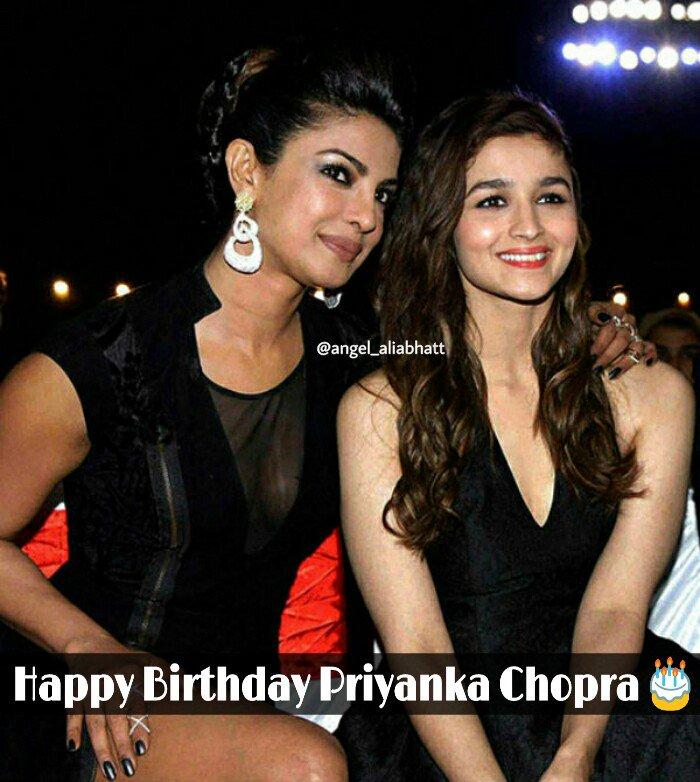 Happy Birthday to Priyanka Chopra  @aliaa08 @priyankachopra  #AliaBhatt #angel_aliabhatt #PriyankaChopra #HappyBirthdayPriyanka #FolloMe<br>http://pic.twitter.com/FFAO5kLlzH