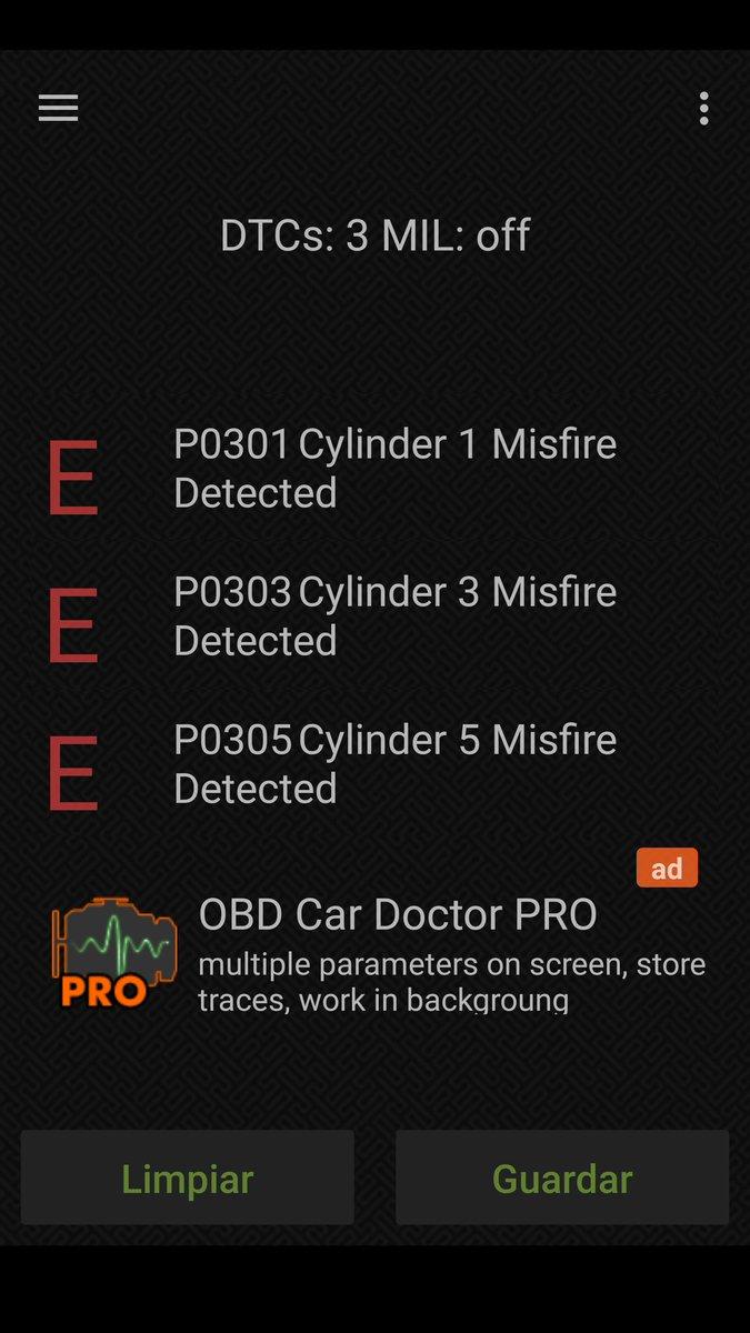 eobd dtc p0302