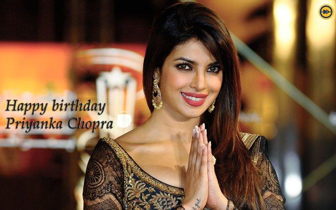 Happy birthday to International superstar, Priyanka Chopra!!!