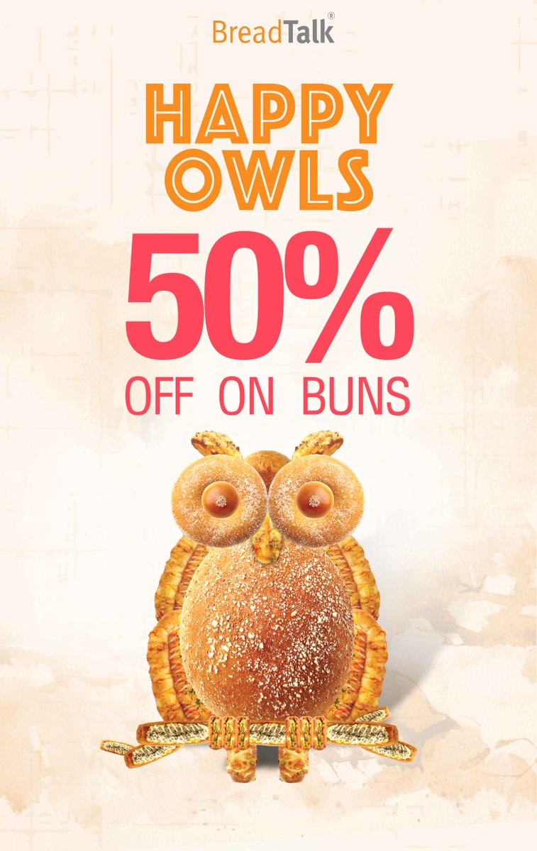 50% Off buns daily! 6pm onwards Rajagiriya. 7pm onwards LiptonCircus ParkStreet Thimbirigasyaya Mount Nugegoda Maharagama #SriLanka #Lka https://t.co/hD9jpZmYZV