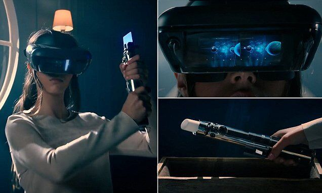 Star Wars fans rejoice! Disney's new headset lets you be a Jedi and play Holochess in augmented reality