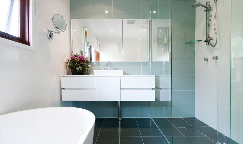 One of our modern looking renovations in Beacon Hill #Bathroom #Renovation #BeaconHill<br>http://pic.twitter.com/l7cLrKENmu