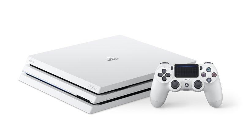 PlayStation®4 Pro初のカラーバリエーション「グレイシャー・ホワイト」