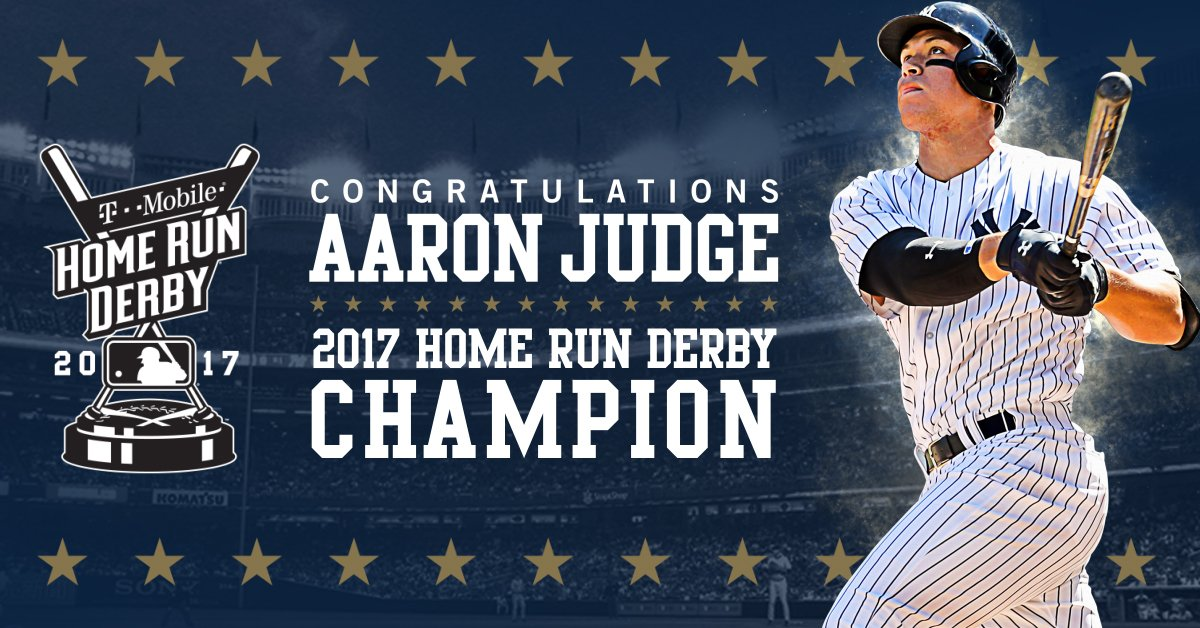 Was there any doubt?!  CONGRATS @TheJudge44!!! 🏆🏆🏆🏆🏆🏆