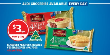 Aldi Australia On Twitter A Pie For Lunch Is The Australian Way But Do You Prefer Them With Tomato Or Bbq Sauce Available Everyday At Aldi Pies Sauce Lunch Https T Co Gewhspr76b