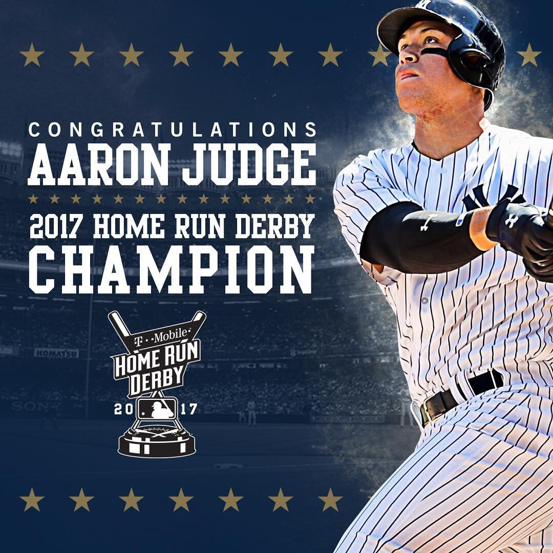 Worldstarhiphop mobile app - Worldstarhiphop On Twitter Congratulations Goes Out To Aaron Judge Who Won The 2017 Home Run Derby Thejudge44 Https T Co Ivnyfhykc5