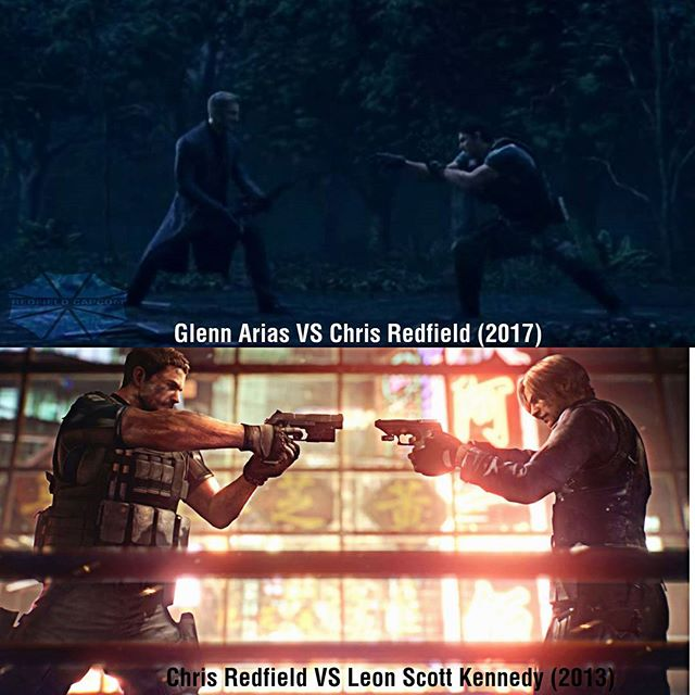 Chris Redfield On Twitter Resident Evil Vendetta Glenn Arias