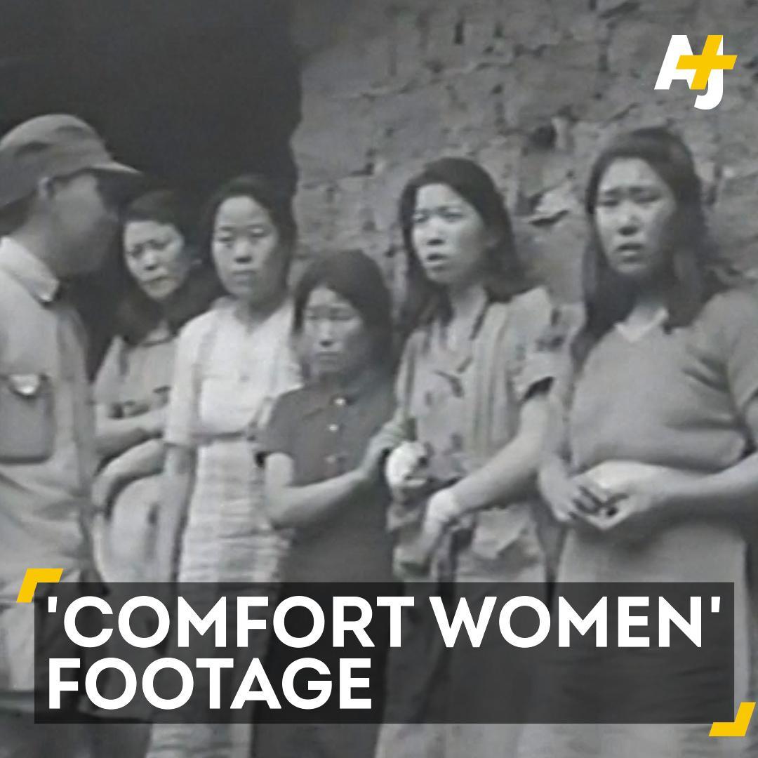 War : footage Japan War sex slaves surfaced | AJ+ | Scoopnest