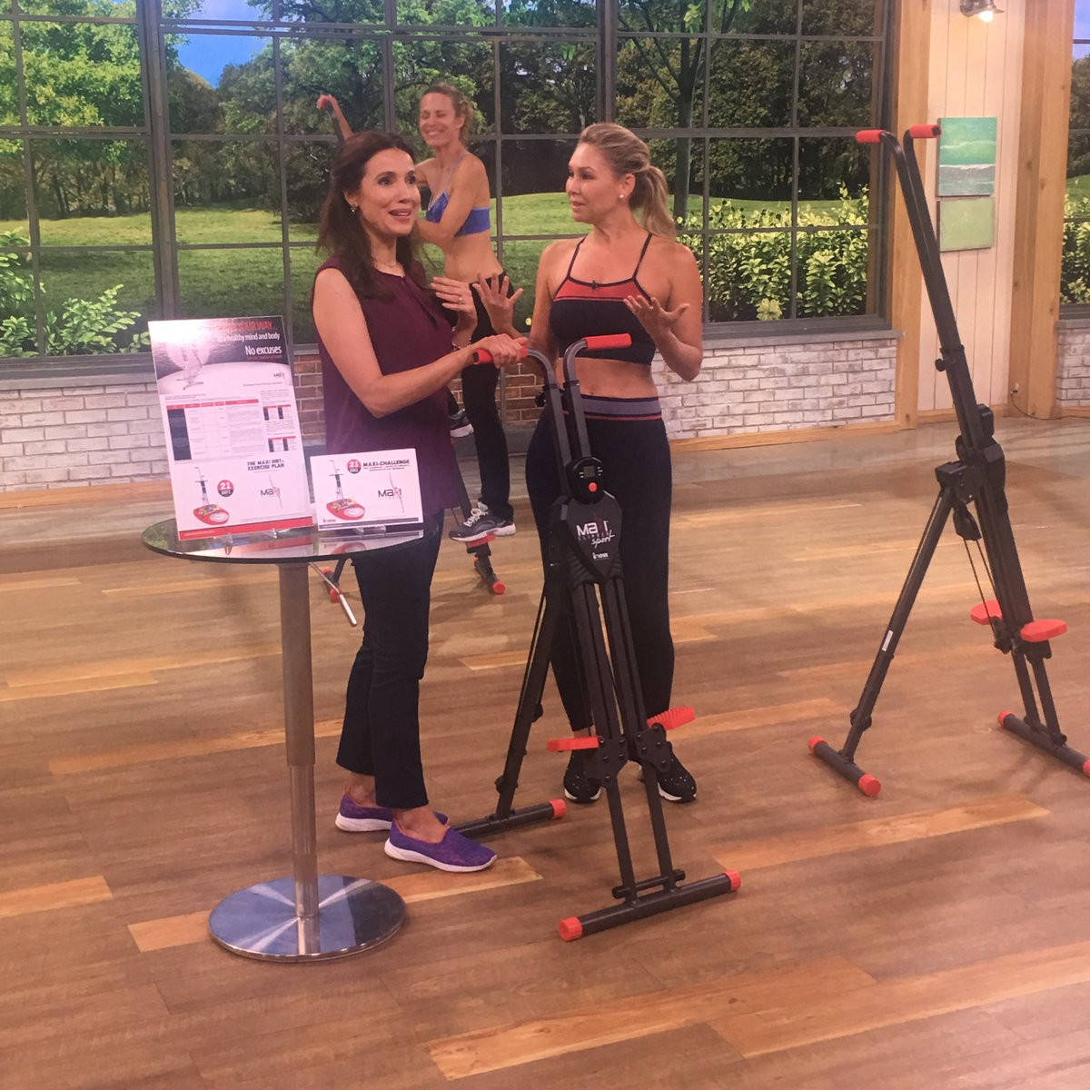 On @QVC #qvc2 right now sharing @MaxiClimber success stories.  Tune in now. https://t.co/qAN92XuToy