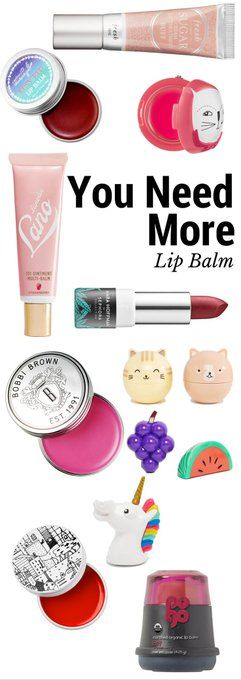 You Need More Lip Balm In Your Life – Musings of a Muse