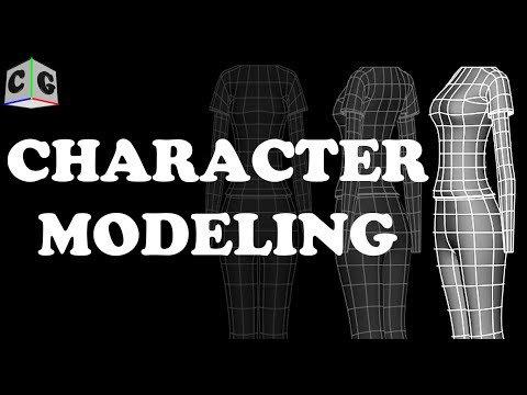 MODELING A FEMALE CHARACTER IN MAYA • r/lowpolytutorial