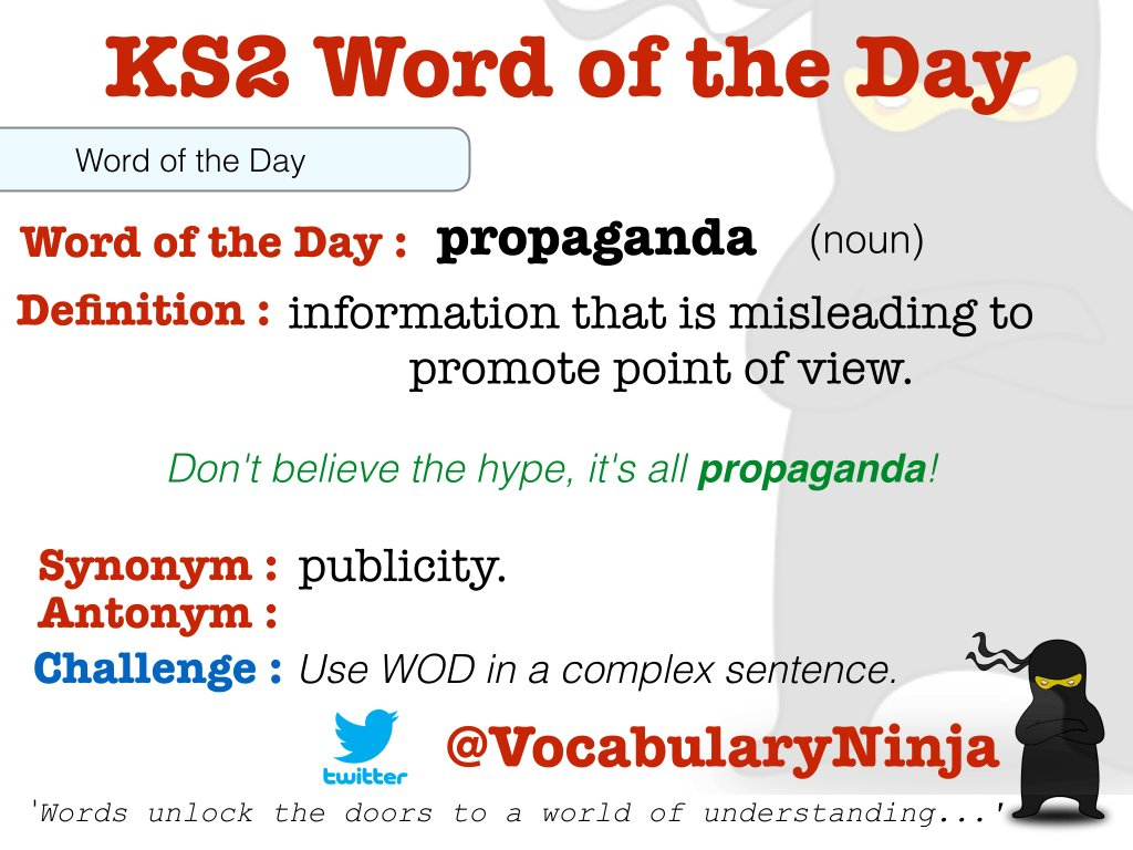 Image result for KS2 word of the day