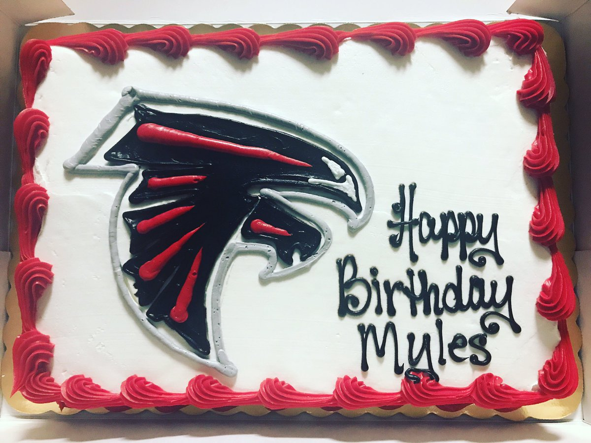 Myles Metts On Twitter My AtlantaFalcons Birthday Cake Atlanta