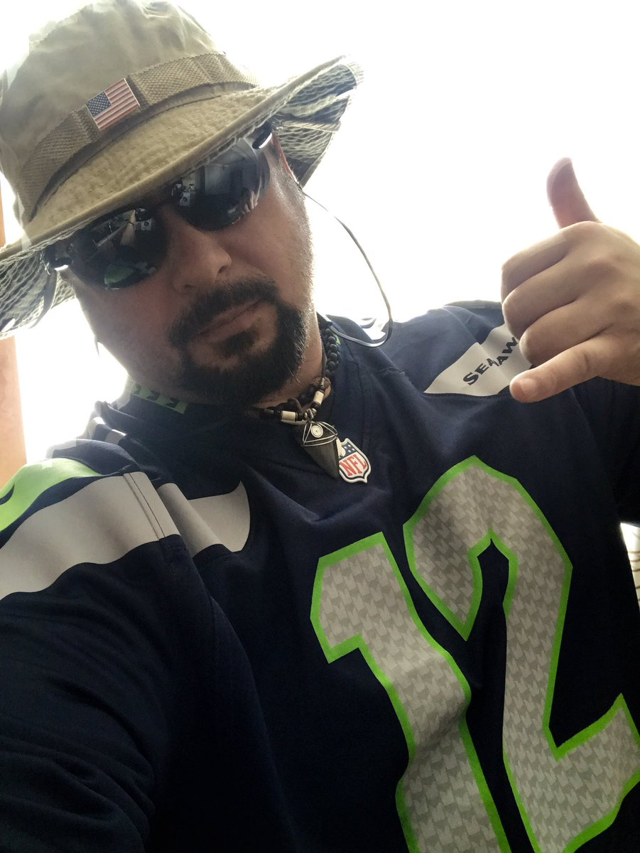Let's get Rowdy!!! Loud and Proud #12s in the house!!!   #12thMan in #Mongolia!!!