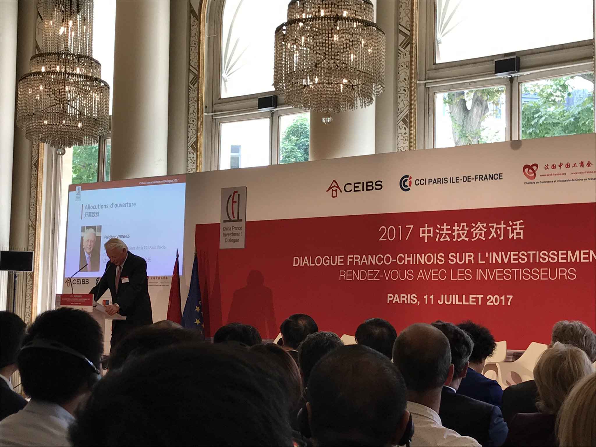 Thumbnail for [#LiveTweet] China France Investment Dialogue 2017
