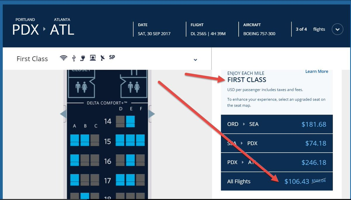 atl on way back may want to check fcm offers 4 bonus mqms https www delta com content www en us skymiles earn miles earn miles with delta html