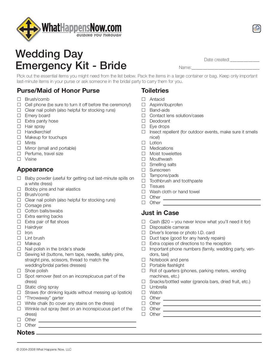 weddingemergencykit hashtag on Twitter