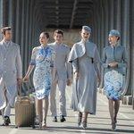 ハリーポッターに出てきそう!中国・海南航空の乗務員制服が魔法使いみたいでカッコいい!