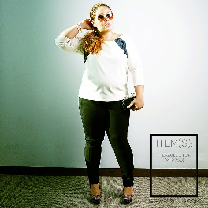 "PLUS SIZE FASHION: #OOTD ""WHITE UP!"""