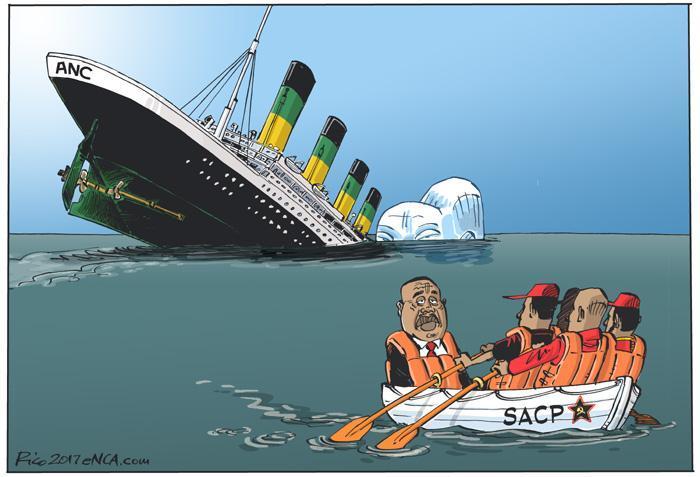 #eNCAcartoon: Jumping The Boat #ANC #SACP https://t.co/9ksFxydq2a
