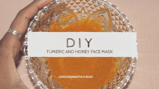 #DIY: Tumeric And Honey Face Mask…