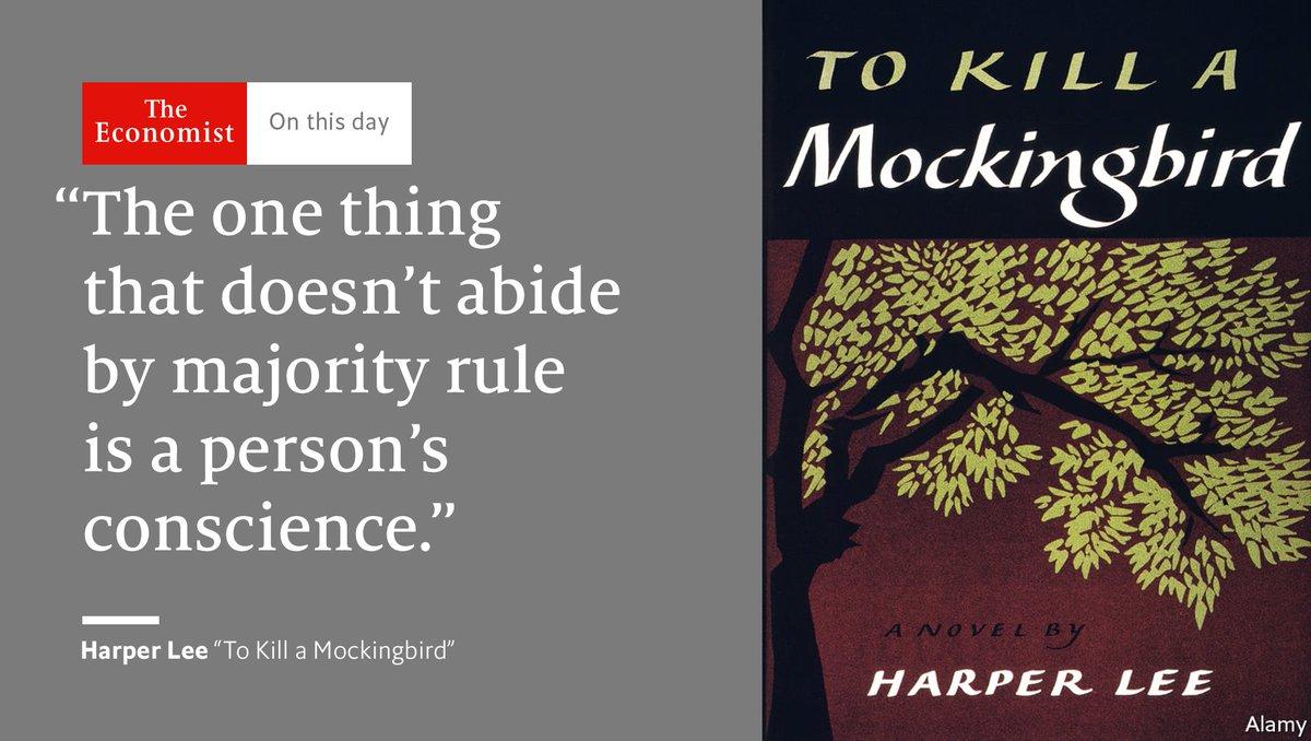 instilling conscience to kill a mockingbird essay Get free homework help on harper lee's to kill a mockingbird: full glossary for to kill a mockingbird essay brings up the role of conscience in the.