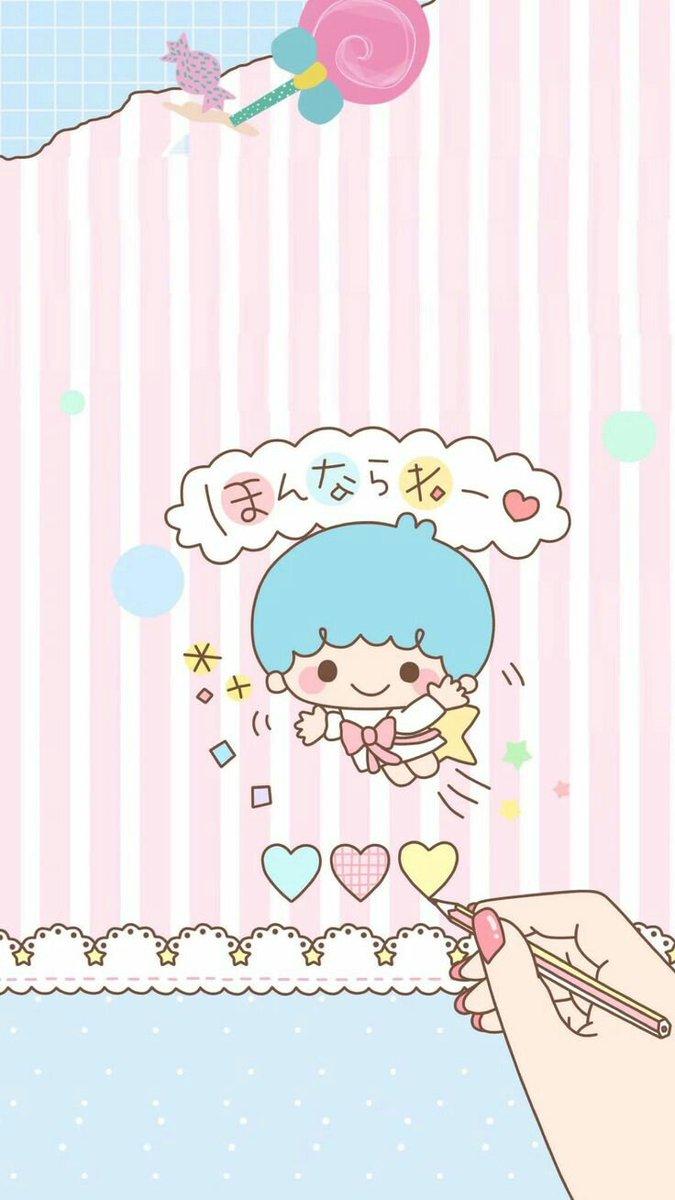 Myjournal On Twitter Little Twin Stars Wallpaper แจก